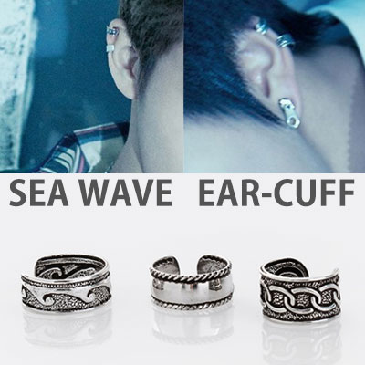 [1ea]NCT st. SEA WAVE EAR-CUFF(3type)