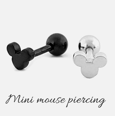 [1ea] MOUSE mini PIERCING