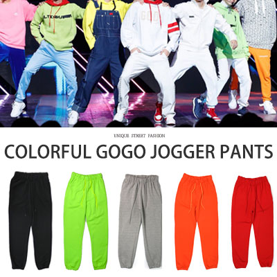[UNISEX] Block B ZICO !BTS GOGO STYLE/COLORFUL GOGO JOGGER PANTS(5color)