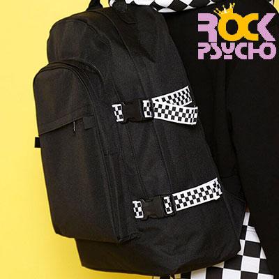 【ROCK PSYCHO】 CHECKER BOARD BACKPACK