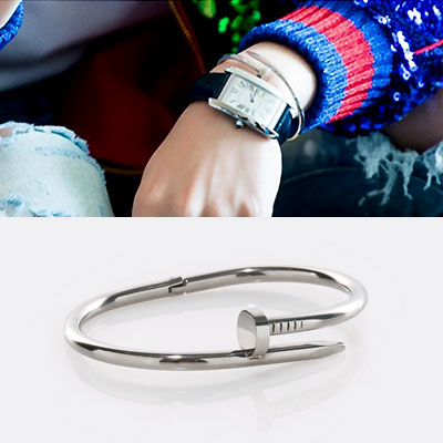 BTS JIMIN st. CIRCLE NAIL BRACELET(2color)