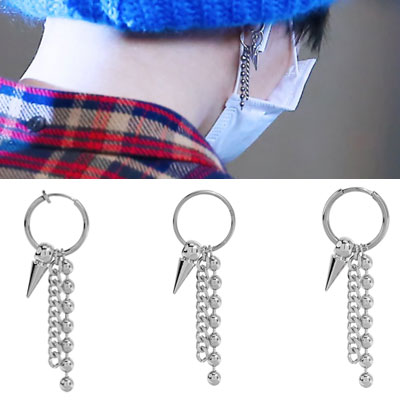 BTS/SUGA st. CORN/BALL/CHAIN MIX PIERCING(3type)