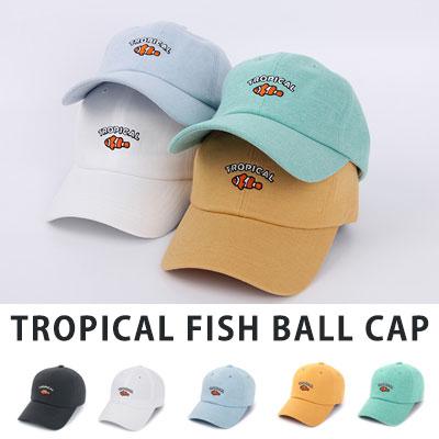 [UNISE] TROPICAL FISH BALL CAP(5color)