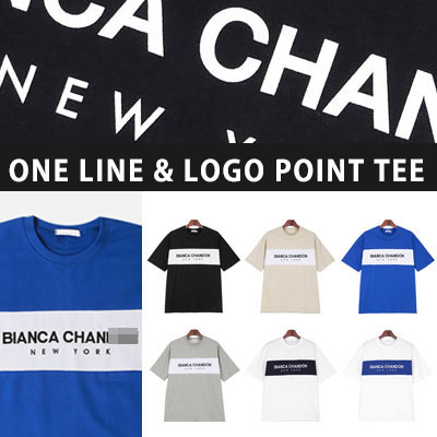 [UNISEX] ONE LINE LOGO POINT TSHIRTS(6color)