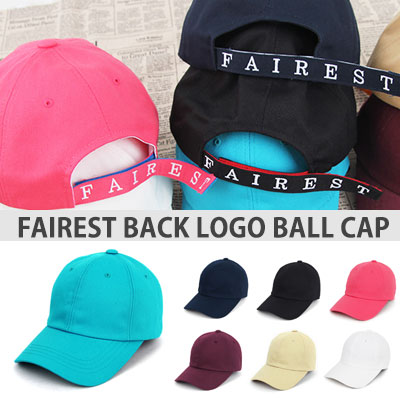 [UNISEX] FAIREST LOGO BACK POINT BALL CAP(7color)