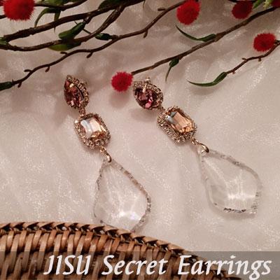 CRYSTAL SECRET EARRINGS