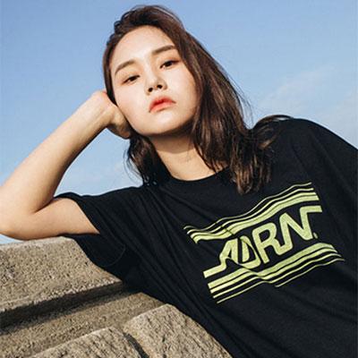 【2XADRENALINE】ADRN LINE LOGO T-Shirt /BLACK