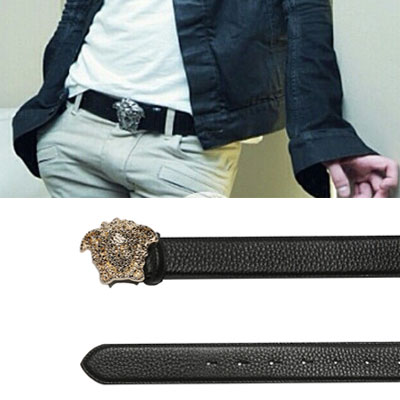 [COWHIDE] MEDUSA HEAD LUXURY BELT