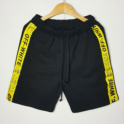 [UNISEX] YELLOW TAPE SHORTS/PANTS(2color)