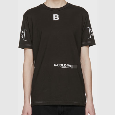 [UNIQUE] CENTER 'B'LOGO POINT SHORT SLEEVE TSHIRTS(2color)