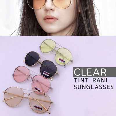 JunJihyun st.CLEAR COLOR TINT RANI SUNGLASSES(4color)