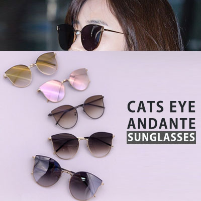 Sunmi/Yuri st. CLEAR COLOR TINT ANDANTE SUNGLASSES(5color)