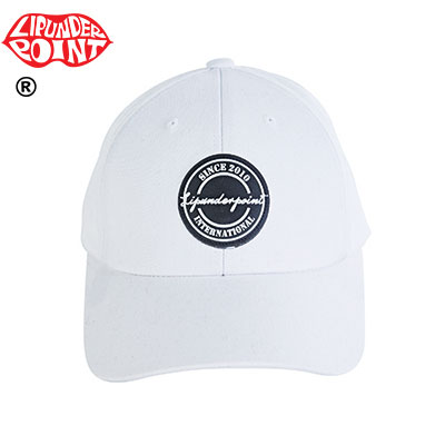 [LIP・UNDER・POINT]  Stamp Logo BALLCAP -WHITE/BLACK