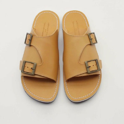 [23.5 ~ 28.5cm]  Using high-grade Vibram sole/BARREL LEATHER SANDAL