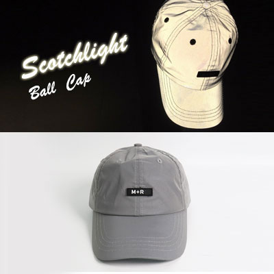 [UNISEX] Mnet music show더 콜(The Call) Wheesung sytle!SCOTCH LIGHT SILVER GREY BALL CAP
