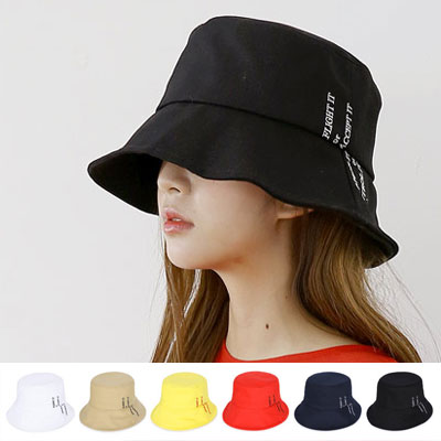[UNISEX] FLIGHT IT EMBROIDERY BUCKET HAT(6color)