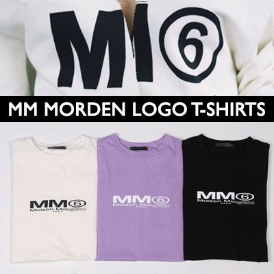 [UNISEX] MM MODERN LOGO TSHIRTS(3color)