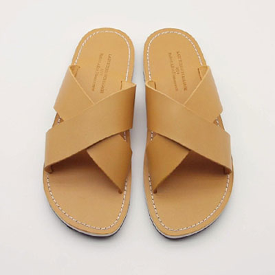 [23.5 ~ 28.5cm] Using high-grade Vibram sole/BARREL LEATHER X SANDAL
