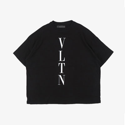 [UNISEX] VERTICAL LOGO SHORT SLEEVE TSHIRTS(2color)