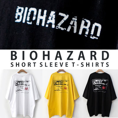 [UNISEX] BIOHAZARD SHORT SLEEVE TSHIRTS(3color)