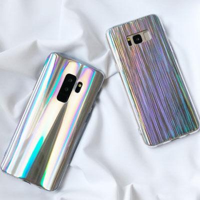 SHINING HOLOGRAM PHONE CASE(2type)
