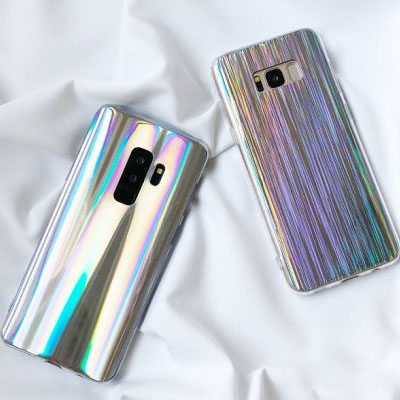 SHINING HOLOGRAM PHONE CASE(2type)