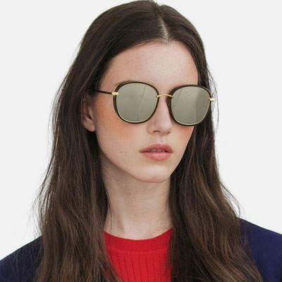[UNISEX] MIRROR BIG FRAME SUNGLASSES(6color)