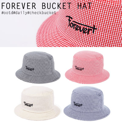 [UNISEX] FOREVER BUCKETHAT(4color)