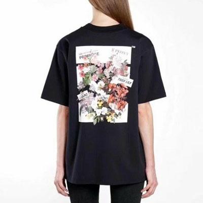[UNISEX] BLOOMING FLOWER PRINT SHORT SLEEVE TSHIRTS(2color)