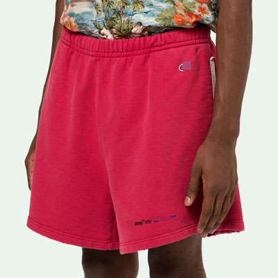 [UNISEX] PETIT EMBROIDERY LOGO POINT SHORTS(2color)