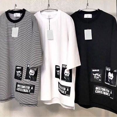 [UNISEX] MULTI PATCH POINT SHORT SLEEVE TSHIRTS(3color)