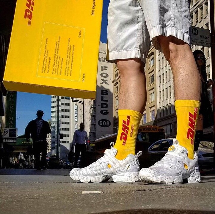 [UNISEX] DHL LOGO SOCKS(3color)