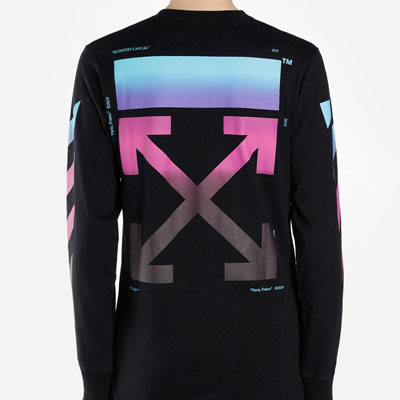 [UNISEX] BLUE PINK GRADATION LONG SLEEVE (2size)