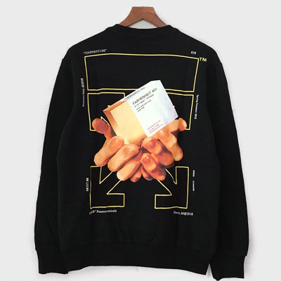 [UNISEX] HARD BOOK BACK PRINTING SWEATSHIRTS