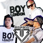 [EMS free shipping = 3 arrival business day] GD 2013 WORLD TOUR Big Bang style T- shirt ★