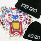 ★ KIRANG POPULAR ITEM ★ international celebrities' favorite brand KENZ * st. Logo print BEANIE