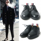 [24.5~28.0cm]International celebrities · BIGBANG G DRAGON style! TOM ** wind wing tip wax shoes (high quality)