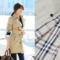 ♥ Girls LOVE30% discount ♥ Girls, Jeon Ji Hyun, during the big break in the popular Korean celebrities such as Yoon Eun Hye! Bubba * over style trench coat