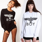 ★DAY SHIPPING★☆ new stock deals ☆ Korea popular street brand BOY LONDON st.Front Eagle Boy Trainer (2color)
