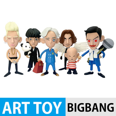 The official BIGBANG goods [BIGBANG ART TOY] BIGBANG X ERIC SO / ATO Toy / BIGBANG figure [genuine]