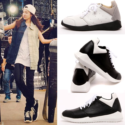 [25.5~27.5]2ne1 Sandara wear style! Tech runner sneakers-VER.2