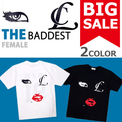 [50%OFF]★DAY SHIPPING★ Big Sale★ 2ne1 CL GZB [Nappunkijibe] T-shirt! Finally restocked completion !! Bad girl / being bad