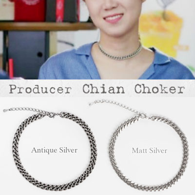 "Korea topic drama ""Producer"" Gong Hyo Jin wear bold feeling of chain choker"