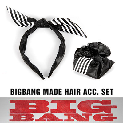 BIGBANG MADE official goods [HAIR BAND SET] WORLD TOUR MADE MD LIST[ORIGINAL]
