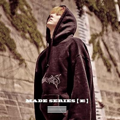 18F/W NEW★G-DRAGON,Kanye West  st. Graffiti logo oversize Hoodie / large size / BIG SIZE HOODIE-BLACK