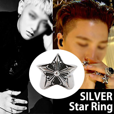 Famous Silver Sterling BIGBANG SOL (Taeyang) and EXO style