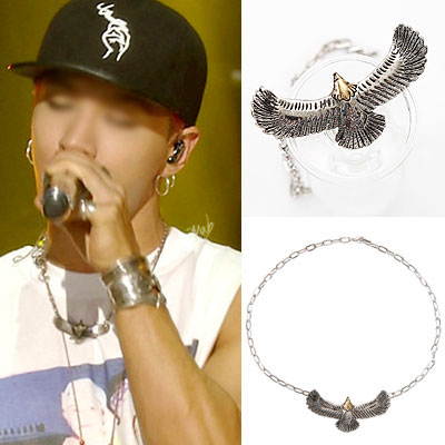 BIGBANG SOL [MADE] active fashion items! Eagle simple chain necklace EAGLE SIMPLE CHAIN NECKLACE
