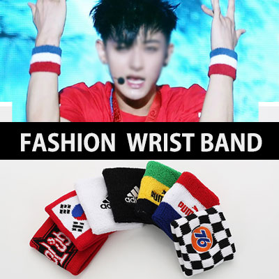 EXO and idle such as also a favorite fashion item! Wristband 8Type / Wrist band
