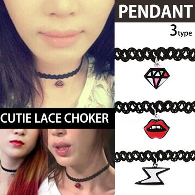 South Korea popular drama [Producer] heroine Gong Hyo-jin & IU-style choker! / Choker Necklace