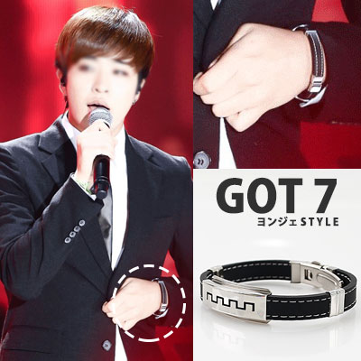 GOT7 YONGJEA Young Jae STYLE! Chic atmosphere INDENT BRACELET